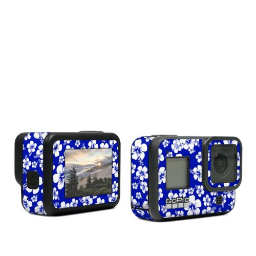 Aloha Blue GoPro Hero8 Black Skin