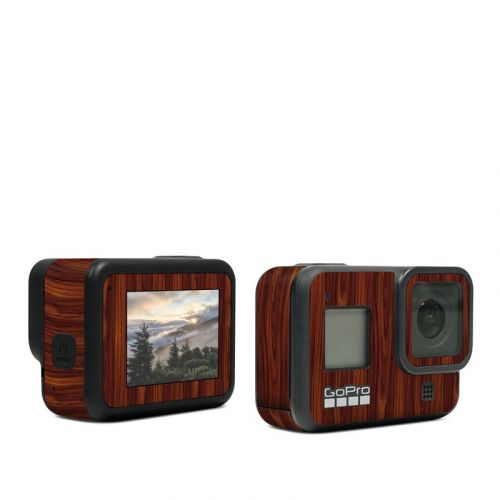 Dark Rosewood GoPro Hero8 Black Skin