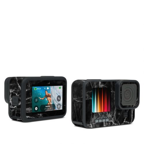Black Marble GoPro Hero9 Black Skin