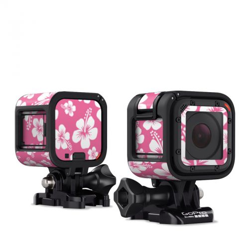 Aloha Pink GoPro Hero4 Session Skin