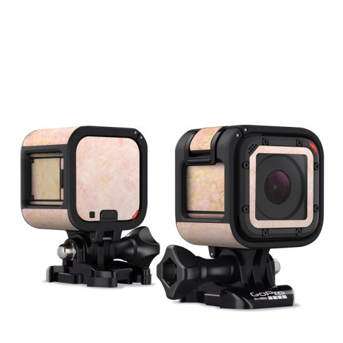 Rose Gold Marble GoPro Hero4 Session Skin
