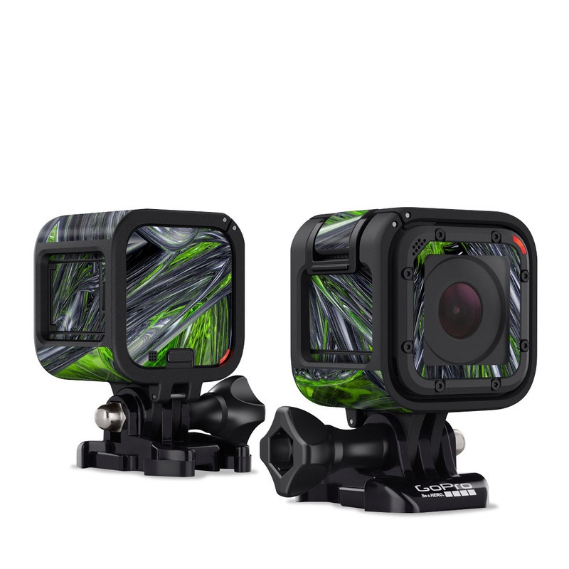 Emerald Abstract GoPro Hero4 Session Skin