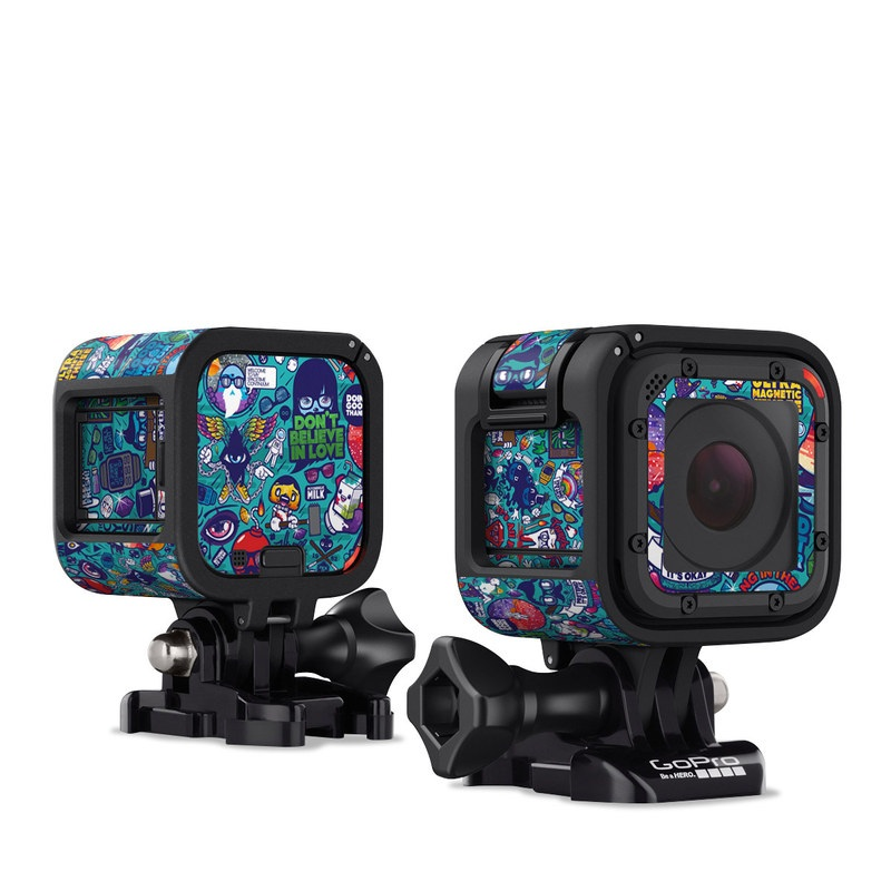 Cosmic Ray GoPro Hero4 Session Skin