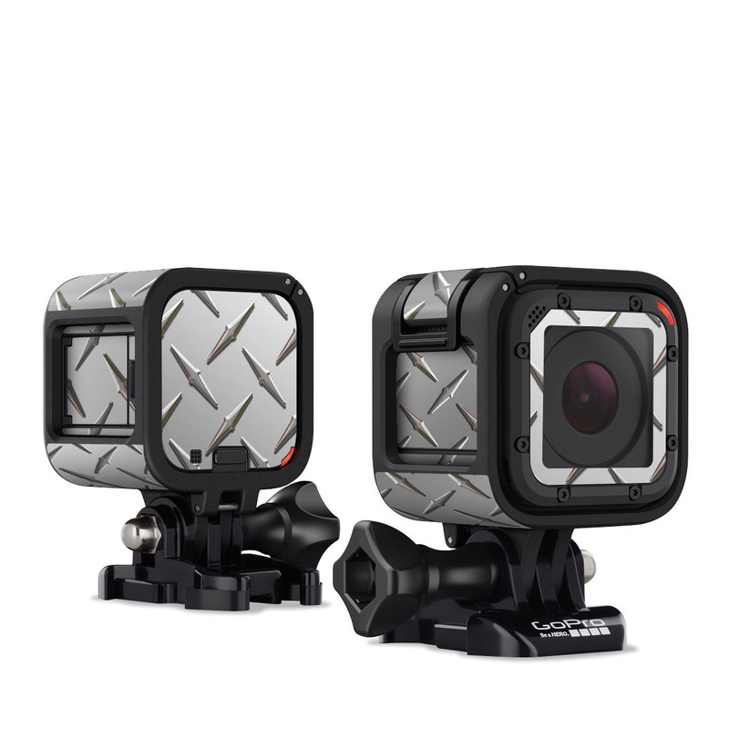 Diamond Plate GoPro Hero4 Session Skin