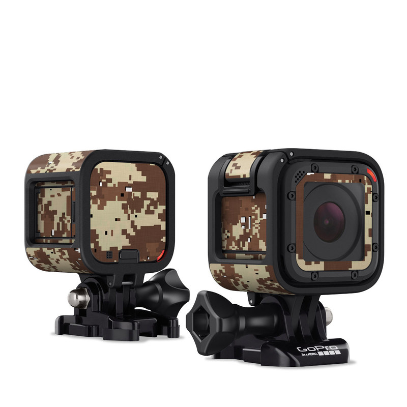 Digital Desert Camo GoPro Hero4 Session Skin
