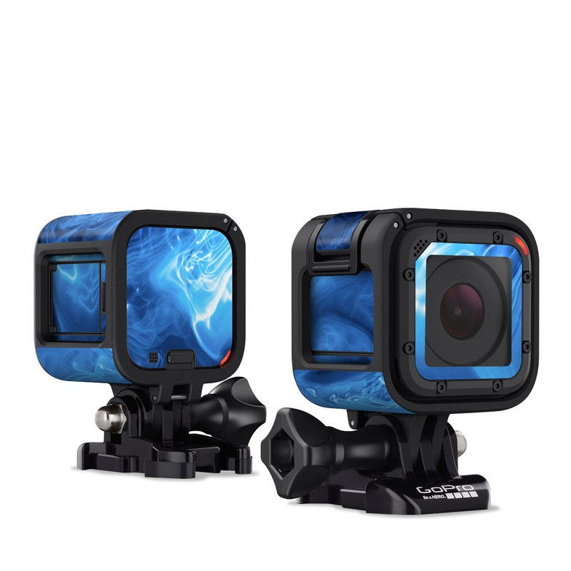 Blue Quantum Waves GoPro Hero4 Session Skin