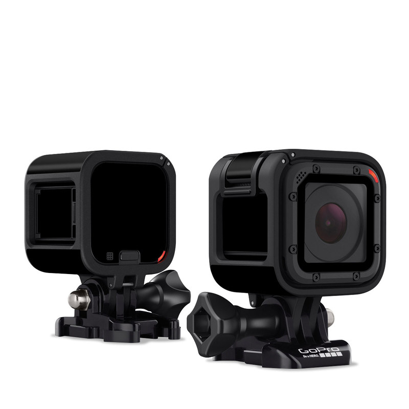 GoPro Hero4 Session Skin design of Black, Darkness, White, Sky, Light, Red, Text, Brown, Font, Atmosphere with black colors