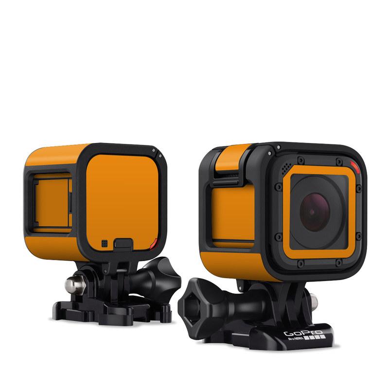 Solid State Orange GoPro Hero4 Session Skin