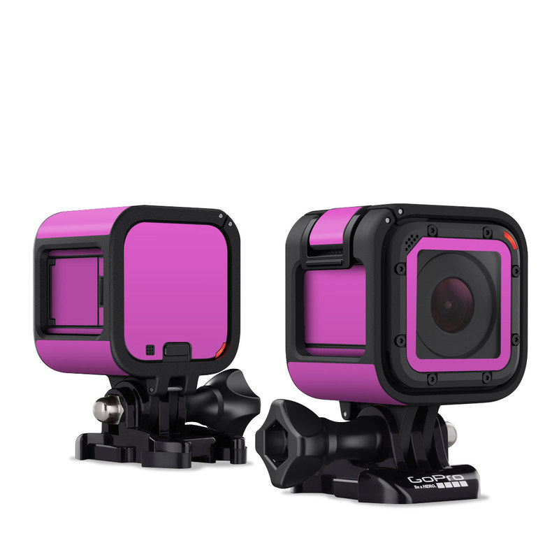 Solid State Vibrant Pink GoPro Hero4 Session Skin