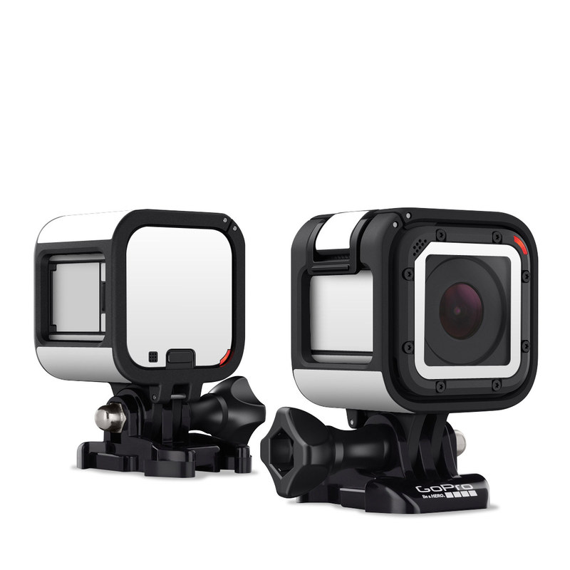 Solid State White GoPro Hero4 Session Skin