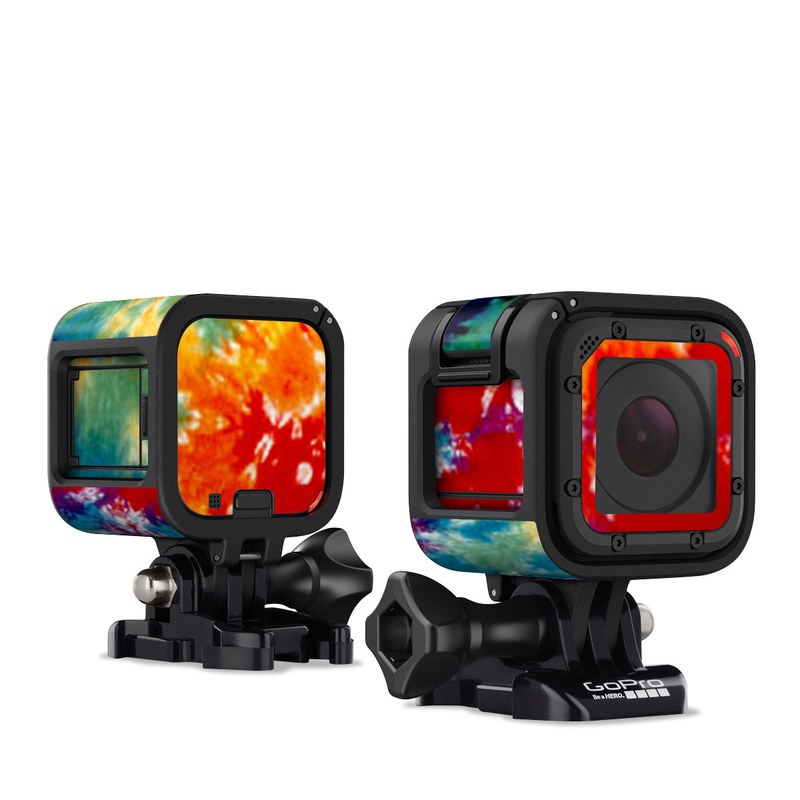 Tie Dyed GoPro Hero4 Session Skin