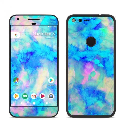 Electrify Ice Blue Google Pixel Skin