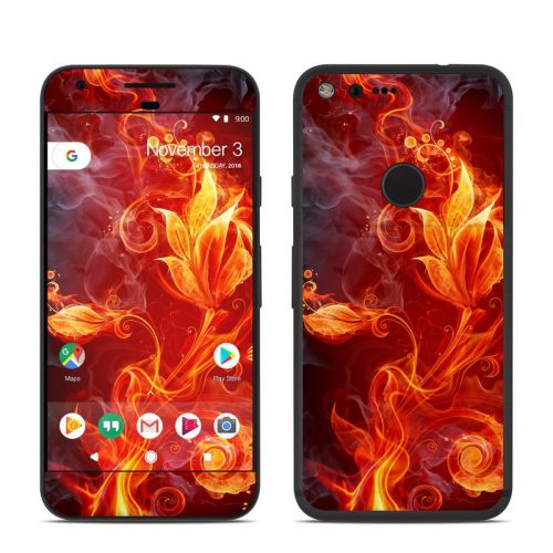 Flower Of Fire Google Pixel Skin