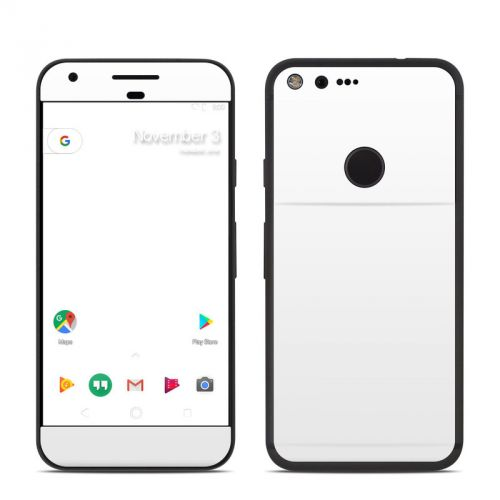 Solid State White Google Pixel Skin