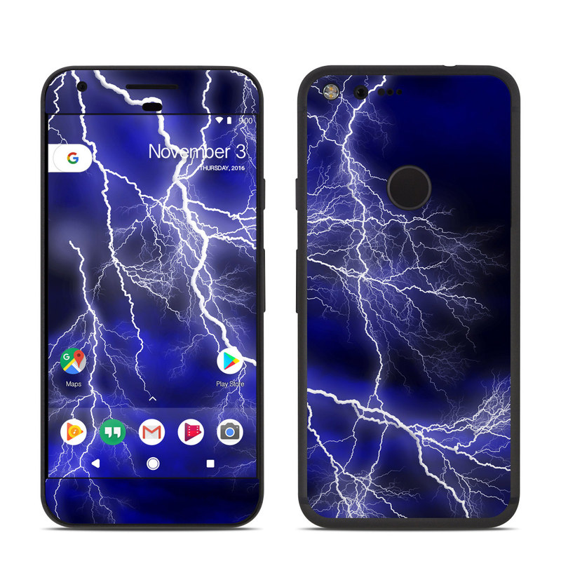 Apocalypse Blue Google Pixel Skin