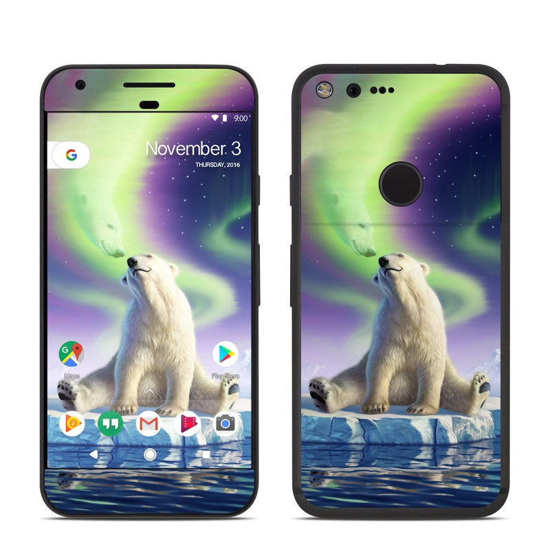 Arctic Kiss Google Pixel Skin