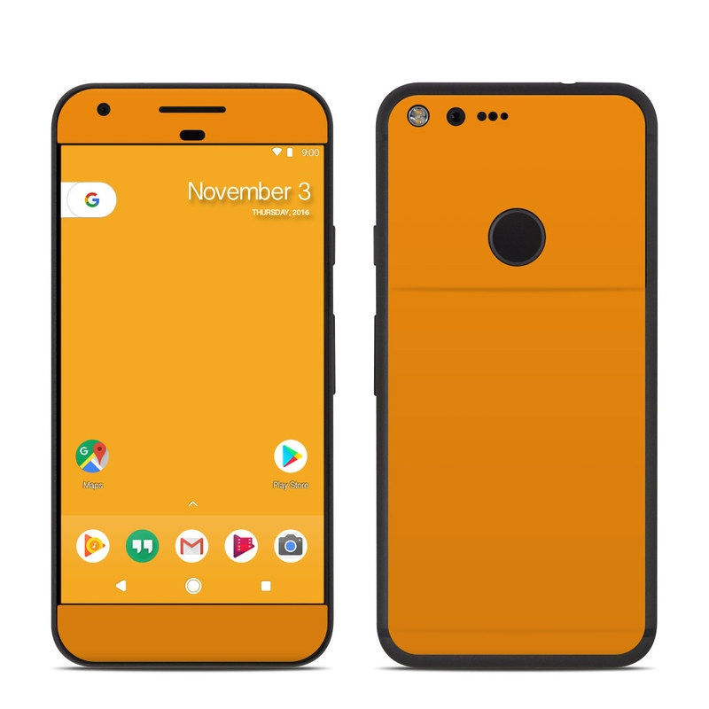 Solid State Orange Google Pixel Skin