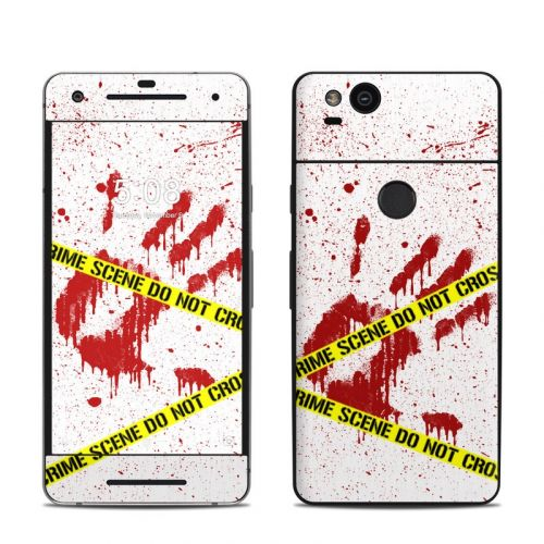 Crime Scene Revisited Google Pixel 2 Skin