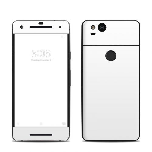 Solid State White Google Pixel 2 Skin