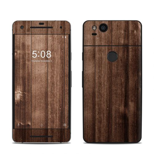 Stained Wood Google Pixel 2 Skin