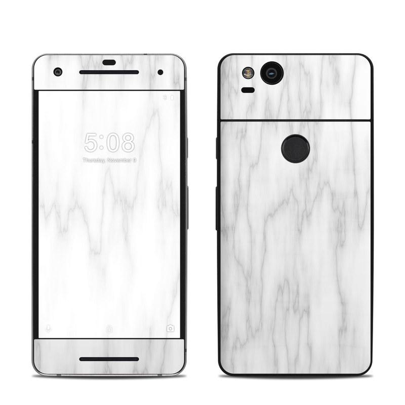 Bianco Marble Google Pixel 2 Skin