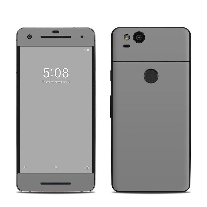 Solid State Grey Google Pixel 2 Skin