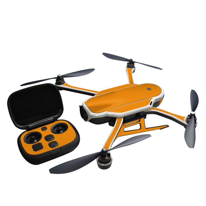 Solid State Orange GoPro Karma Skin
