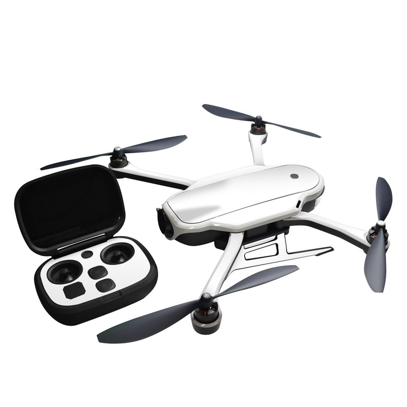 GoPro Karma Skin design of White, Black, Line with white colors