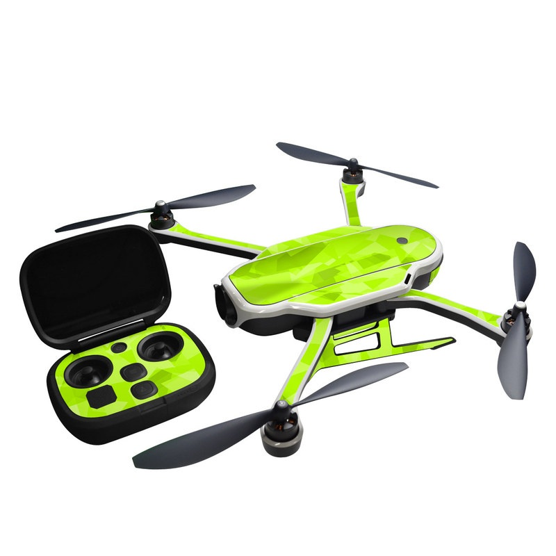 GoPro Karma Skin design with green colors