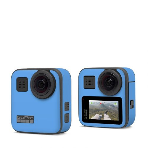 Solid State Blue GoPro Max Skin
