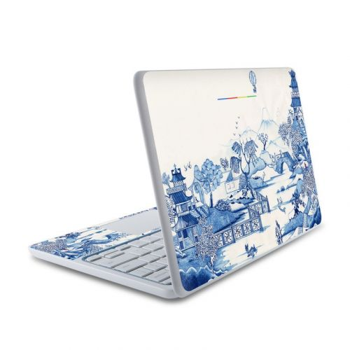Blue Willow HP Chromebook 11 Skin