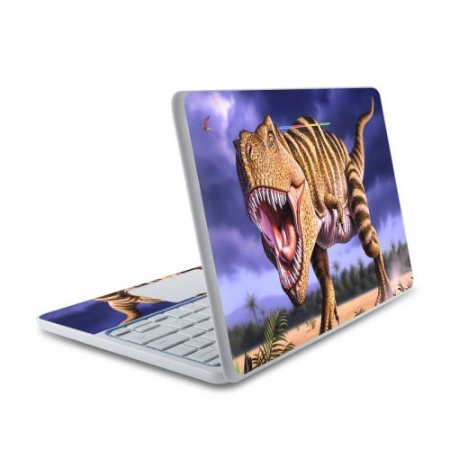 Brown Rex HP Chromebook 11 Skin