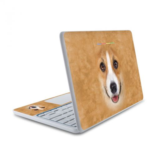 Corgi HP Chromebook 11 Skin
