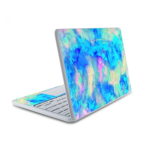 Electrify Ice Blue HP Chromebook 11 Skin