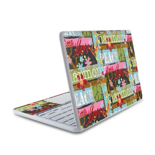 Harmony and Love HP Chromebook 11 Skin