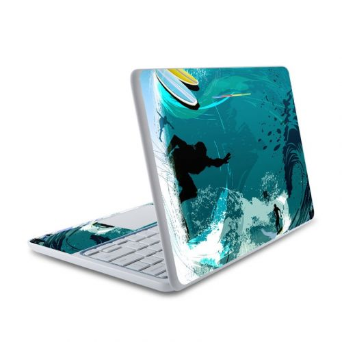 Hit The Waves HP Chromebook 11 Skin