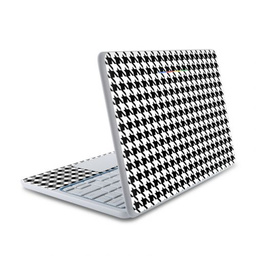 Houndstooth HP Chromebook 11 Skin