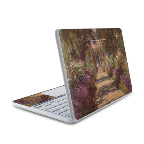 Garden at Giverny HP Chromebook 11 Skin