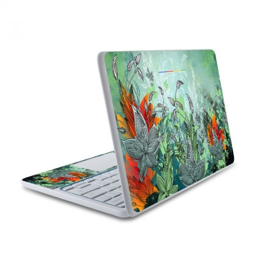 Sea Flora HP Chromebook 11 Skin