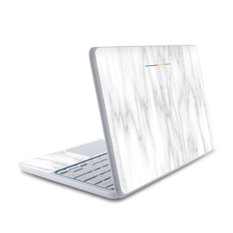 Bianco Marble HP Chromebook 11 Skin