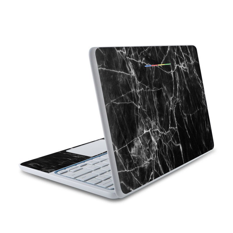 Black Marble HP Chromebook 11 Skin