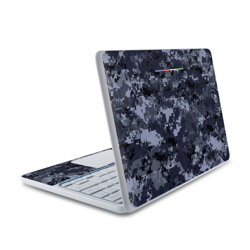 Digital Navy Camo HP Chromebook 11 Skin