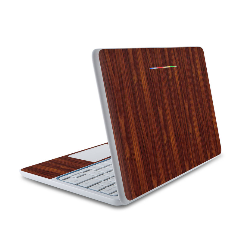 Dark Rosewood HP Chromebook 11 Skin