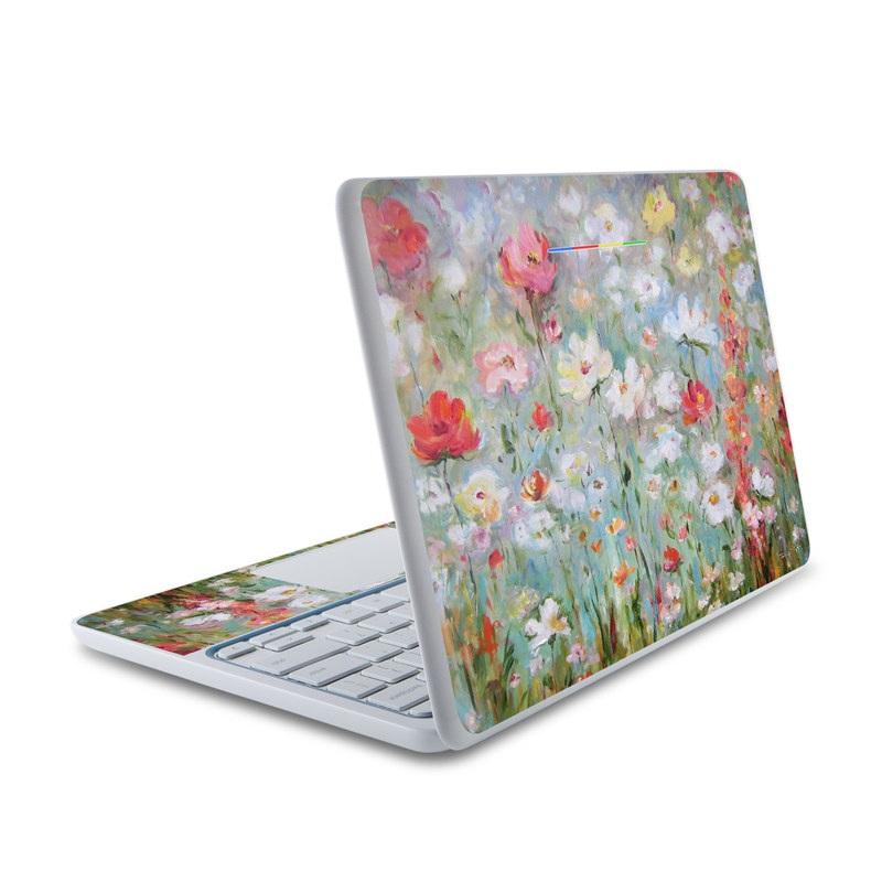 Flower Blooms HP Chromebook 11 Skin