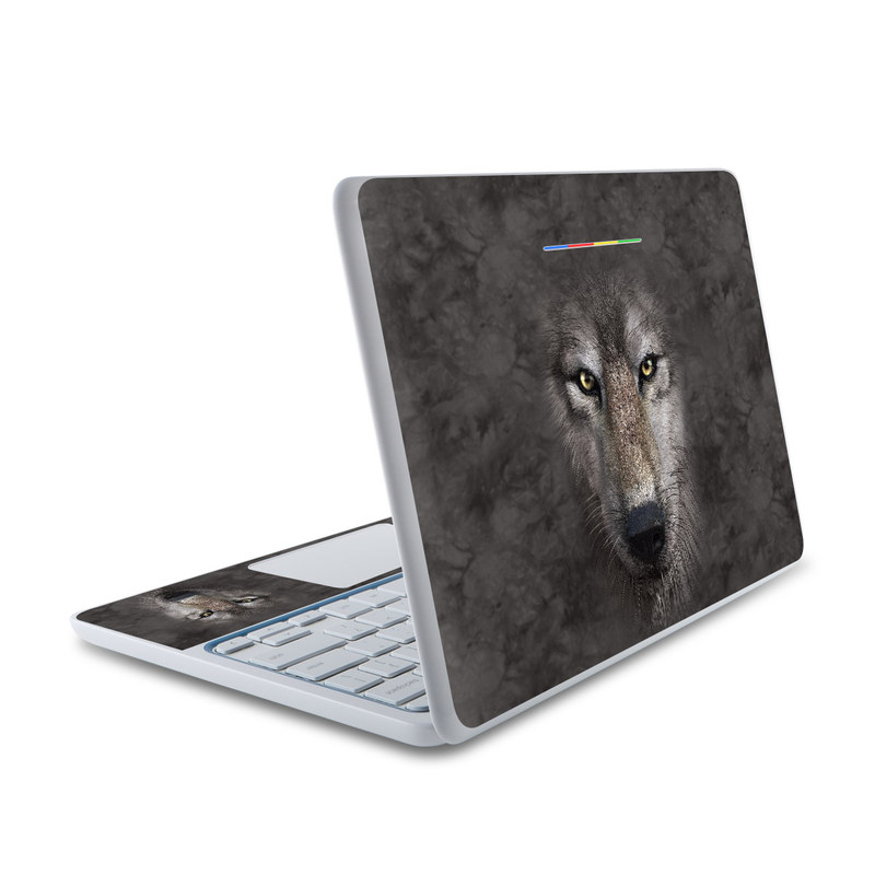 Grey Wolf HP Chromebook 11 Skin