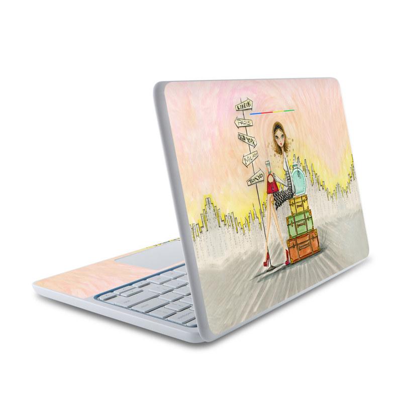 The Jet Setter HP Chromebook 11 Skin