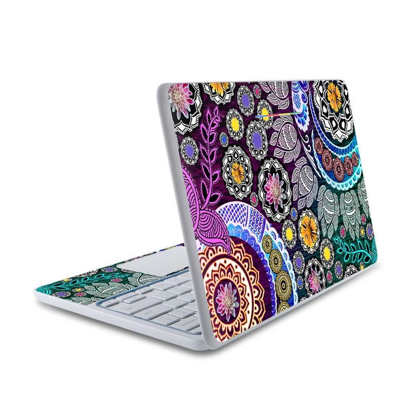 Mehndi Garden HP Chromebook 11 Skin