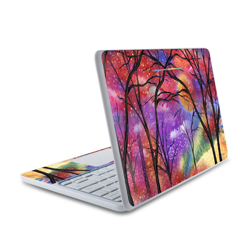 Moon Meadow HP Chromebook 11 Skin