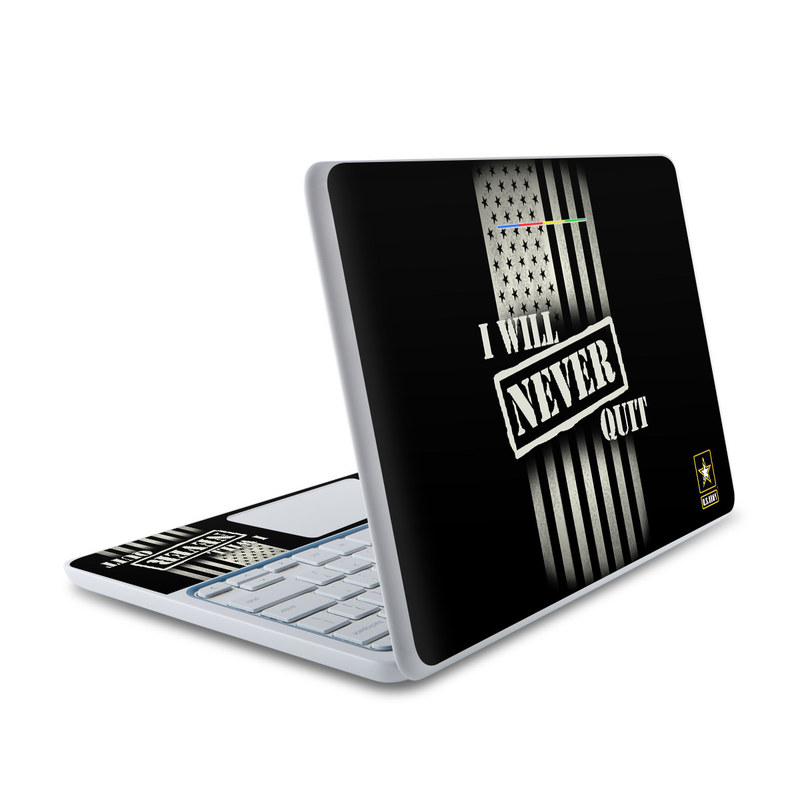 Never Quit HP Chromebook 11 Skin