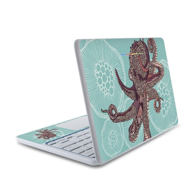 Octopus Bloom HP Chromebook 11 Skin